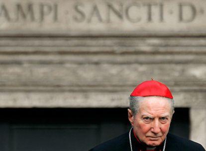 El cardenal italiano Carlo Maria Martini, en el Vaticano, en abril de 2005.