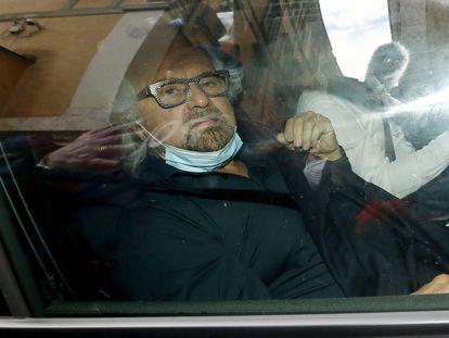 El cómico Beppe Grillo, fundador del Movimiento 5 Estrellas, el martes en Roma.