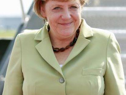 Angela Merkel, la mujer más poderosa, según 'Forbes'.