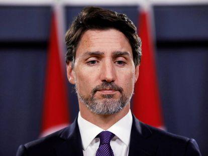 Justin Trudeau, este sábado, en Ottawa.