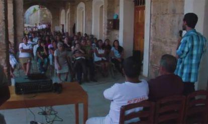 Imagen del vídeo que ilustra el proyecto en Talea de Castro.