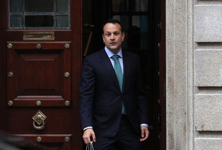 El primer ministro de Irlanda, Leo Varadkar, el pasado domingo en Dublín