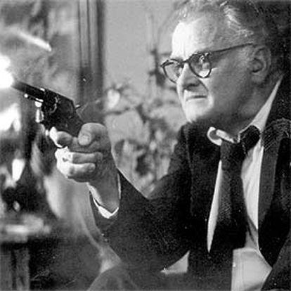 Art Carney, en una escena de la película 'El gato conoce al asesino'.