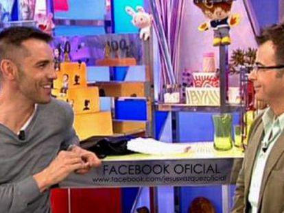 Los presentadores de televisión Jesús Vázquez y Jorge Javier Vázquez.