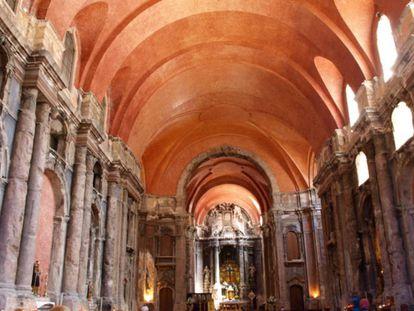 Iglesia de São Domingos, en el barrio de la Baixa.