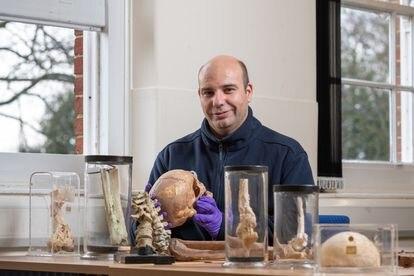 El investigador Nicolás Márquez Grant, profesor del Instituto Forense de la Universidad de Cranfield, en Bedford (Reino Unido).