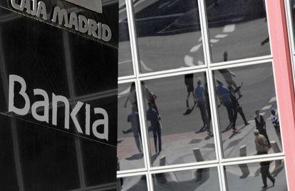 Sede de Bankia en la plaza Castilla (Madrid).