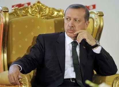 El primer ministro Erdogan en Túnez este jueves.