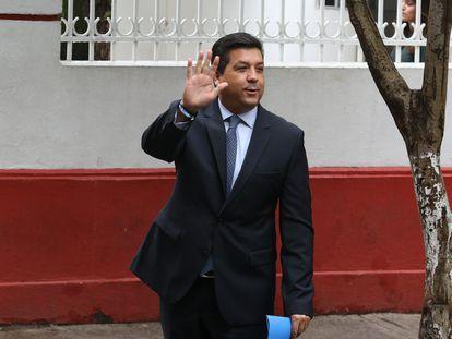 Francisco Javier Cabeza de Vaca, gobernador de Tamaulipas, en una imagen en agosto de 2020.