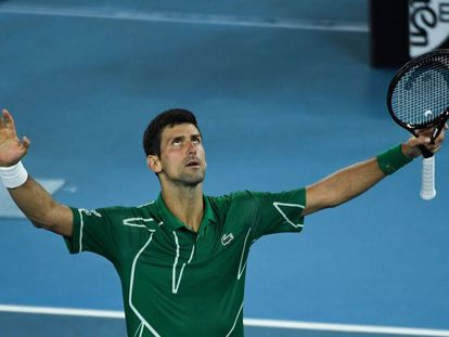 Djokovic se enfrenta a Thiem en la final del Open de Australia 2020