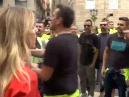La única diputada del PP en la capital catalana ha tildado el paro de  golpe grosero e inútil