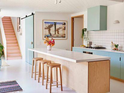 Cocina diseñada por el estudio Emma O'Meara.  