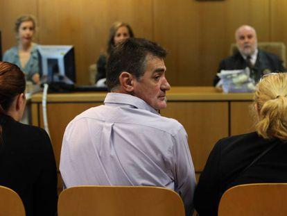 Acusados por el crimen de Arroyomolinos en la Audiencia Provincial de Madrid.