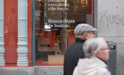 Sucursal bancaria en Madrid