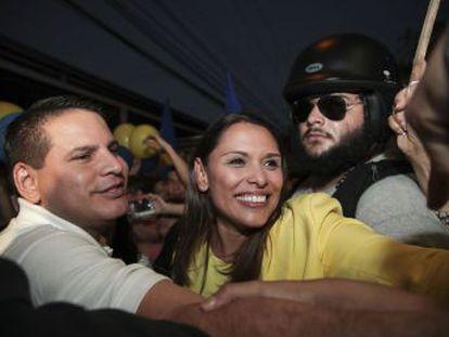 Fabricio Alvarado se enfrentará en la segunda vuelta al candidato oficialista Carlos Alvarado