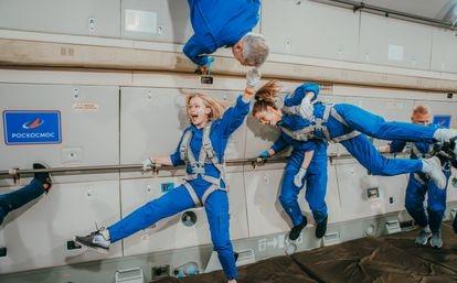 El equipo principal y el equipo suplente entrenan para grabar en el espacio 'El Desafío'.