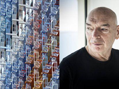 """Jean Nouvel: """"Mis edificios toman forma en la cama"""""""