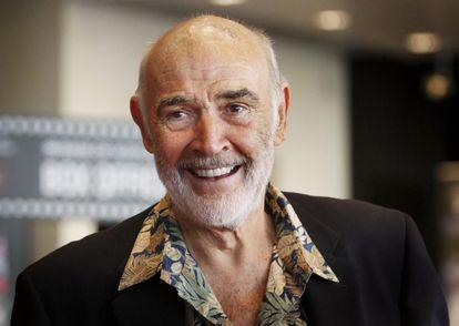 Sean Connery, en el Festival de Cine de Edimburgo, en 2010.