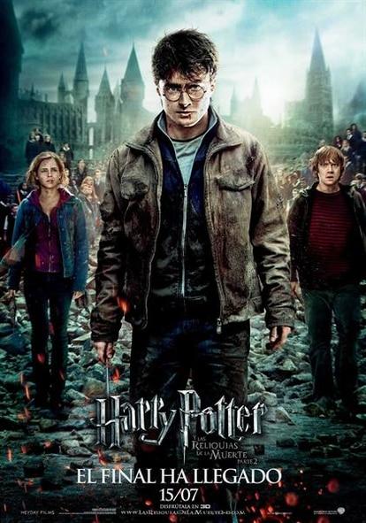 Cartel de Harry Potter y las Reliquias de la Muerte (Parte 2ª)