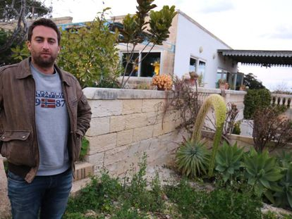 Matthew Caruana Galizia, periodista e hijo de la reportera asesinada.