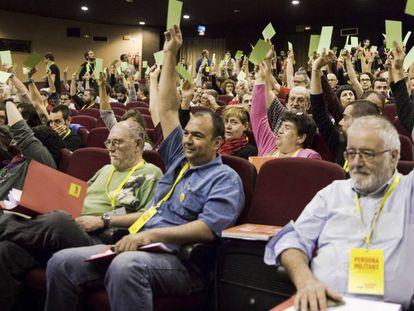 La votación de la Asamblea Nacional de la CUP.