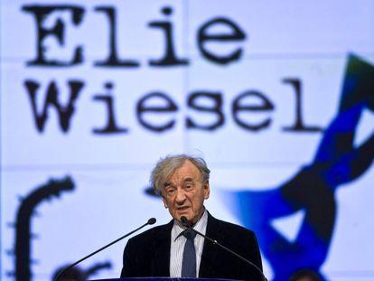 Elie Wiesel, en 2009 en Budapest.