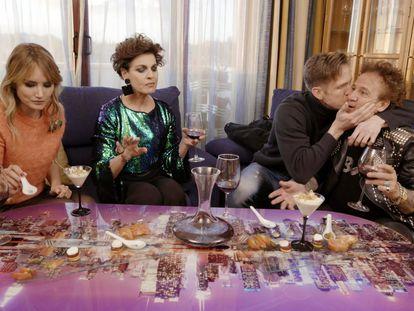 Antonia dell'Atte y Fortu tienen su 'First Dates'