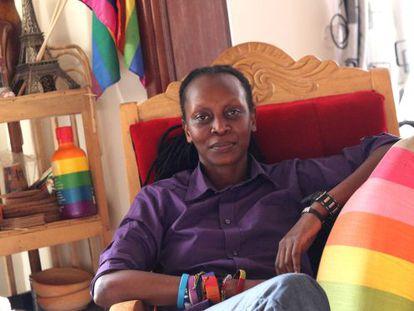 Kasha Jacqueline Nabagesera, activista lesbiana ugandesa.