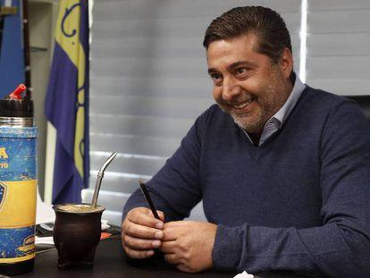 Daniel Angelici, presidente de Boca Juniors. Javier Garcia Martino