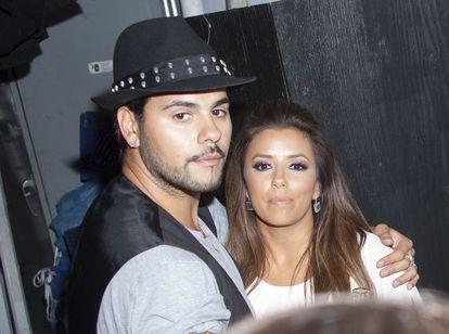 Eduardo Cruz y Eva Longoria, en 2011.