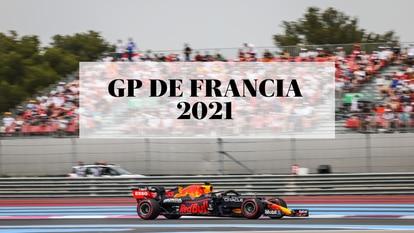 Max Verstappen en el circuito Paul Ricard, durante el Gran Premio de Francia de Fórmula 1 2021.