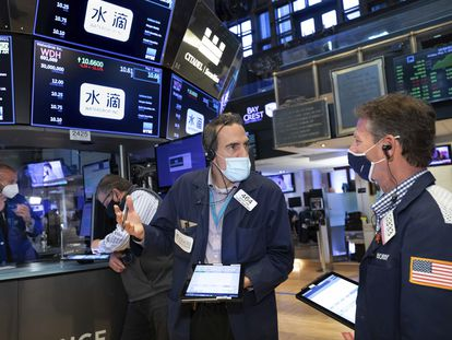 Imagen de la Bolsa de Nueva York, el pasado 7 de mayo.