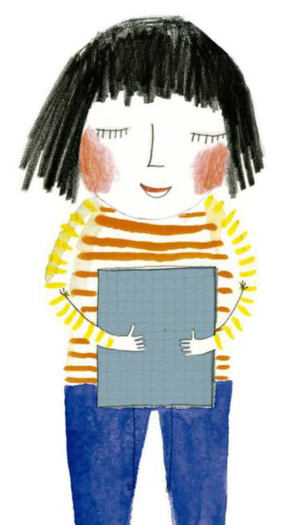 Ilustración de 'Mi amigo libro', de kristen Hall (Blackie Books)