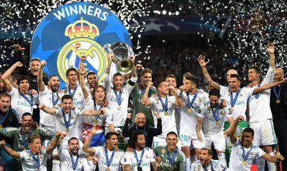 Real Madrid campeón de la Champions 2018