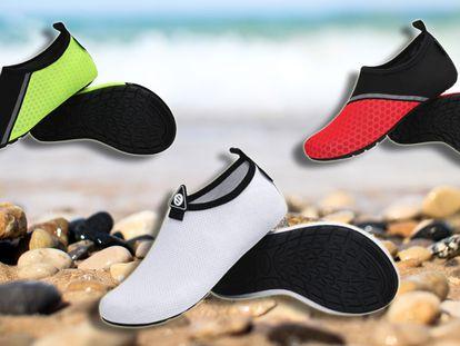 Hemos encontrado los escarpines o zapatillas de agua más vendidos en Amazon para proteger bien los pies este verano.