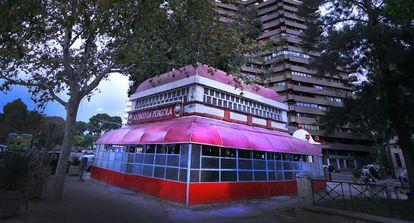 El bar quiosc La Pèrgola, a L'Albereda de València.
