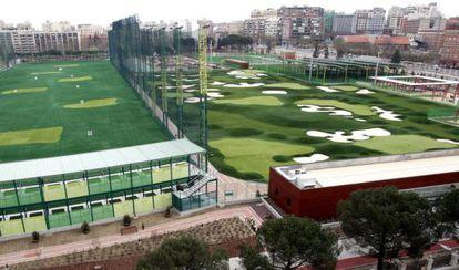 nstalaciones del campo de golf de Chamberí.