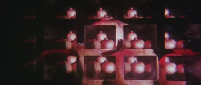 Fotograma de 'Variaciones sobre una granada', de Val del Omar.