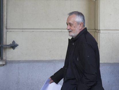 José Antonio Griñán, tras recibir la sentencia de los ERE.