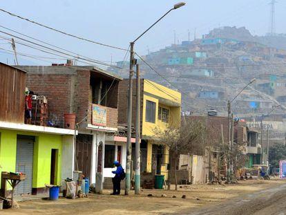 Cajamarquilla es un sector informal de Lima que no recibe la mayoría de servicios esenciales.