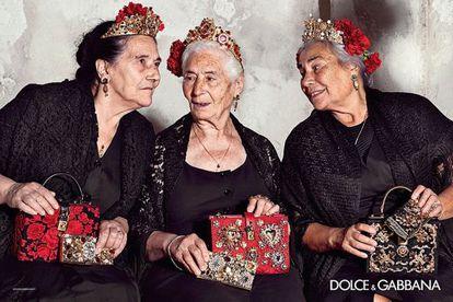 Las 'nonne' de la última campaña de Dolce & Gabbana.