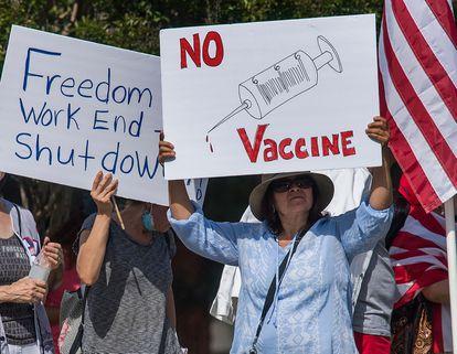 Coronavirus: ¿Y si llega la vacuna, pero millones de personas se niegan a  ponérsela? | Ciencia | EL PAÍS