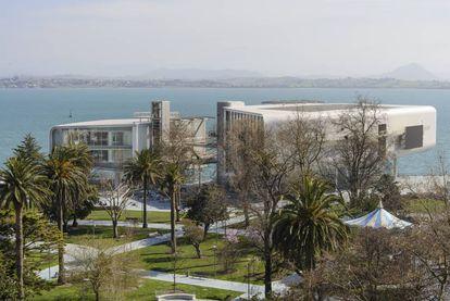 Una imagen del Centro Botín en Santander.