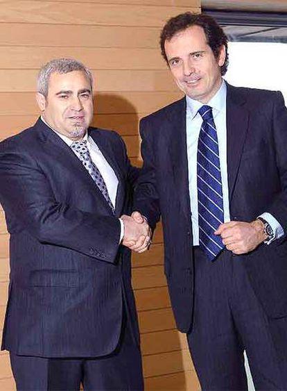 Felix Abánades y Pau Guardans.