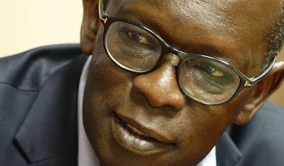 Abdou Dieng, en Casa África.