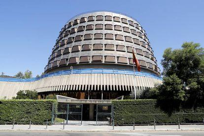 Edificio sede del Tribunal Constitucional, en Madrid.
