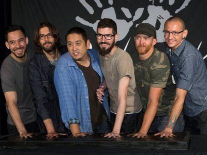 El grupo Linkin Park, en una imagen de 2014.