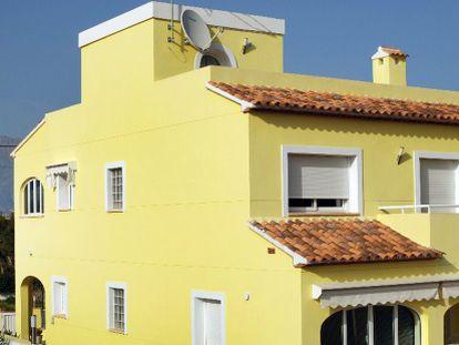 La casa de L'Alfàs del Pi cuyos propietarios se sienten estafados.