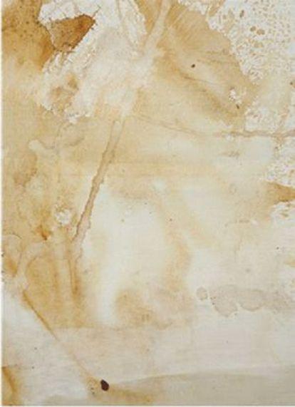 Obra 'Oxidation Painting' (1928-1987) de Andy Warhol.