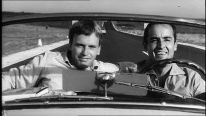 Fotograma de la película italiana 'Il sorpasso'.